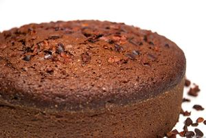 Receptműves: Csokoládétorta kakóbab törettel (gluténmentes)