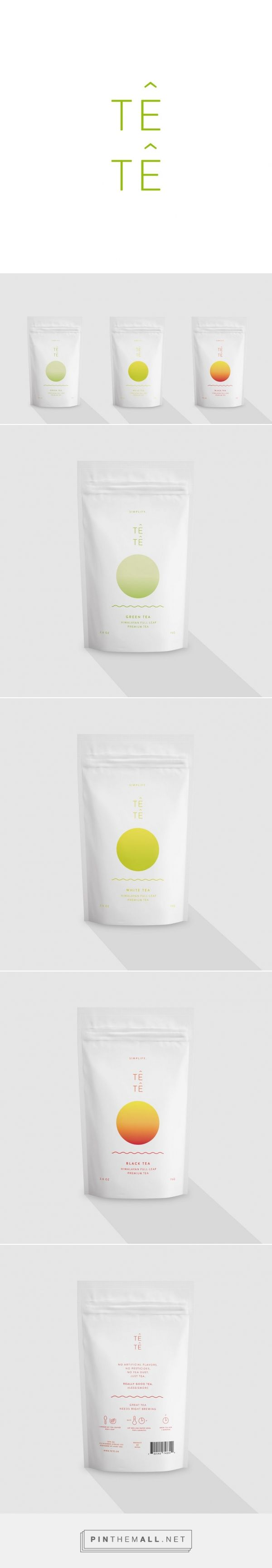 Têtê – tea packaging,  I honestly wasn't sure what the product was but I was oddly  drawn to the packaging when I saw it.