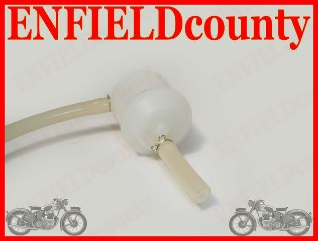 GENUINE ROYAL ENFIELD FUEL FILTER WITH HOSE 144883/B