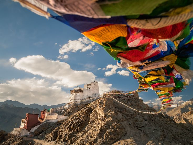 In India's far northern region of Ladakh, Leh offers two of the world's largest mountain ranges, alpine desert, and historic Buddhist monasteries.
