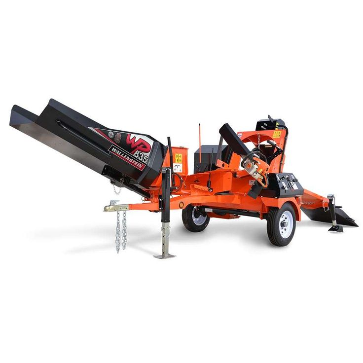 WP835 Firewood Processor | Firewood Processors | Trailer Mounted Wood Processors | Wallenstein Outdoor Power Equipment