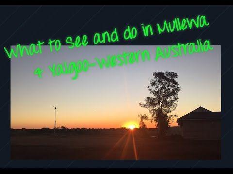 What to do & Where to stay in Mullewa & Yalgoo-Western Australia - YouTube