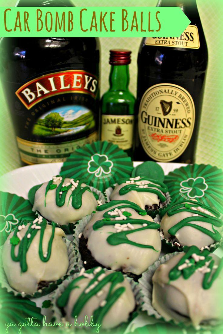 Irish Car Bomb Cake Balls