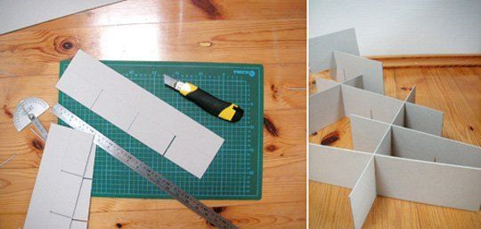How to: Make Homemade Drawer Organizers