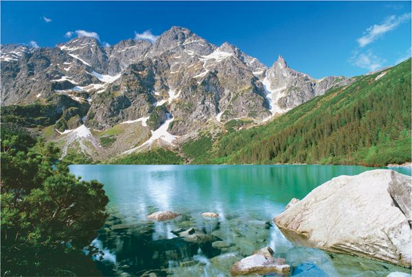 One of my top 10 in Poland - Morskie Oko in the Tatra mountains