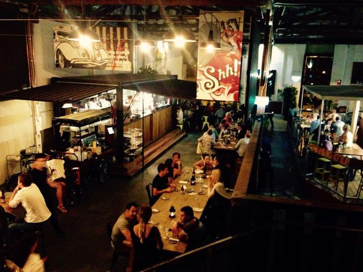 The Mantle - James Street Perth Fremantle Hub with Cafes, Pizza and other really cool stuff.
