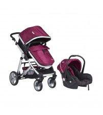 Kanz KZ-4009 Fernanda Seyahat Sistem Bebek Arabası / Mor