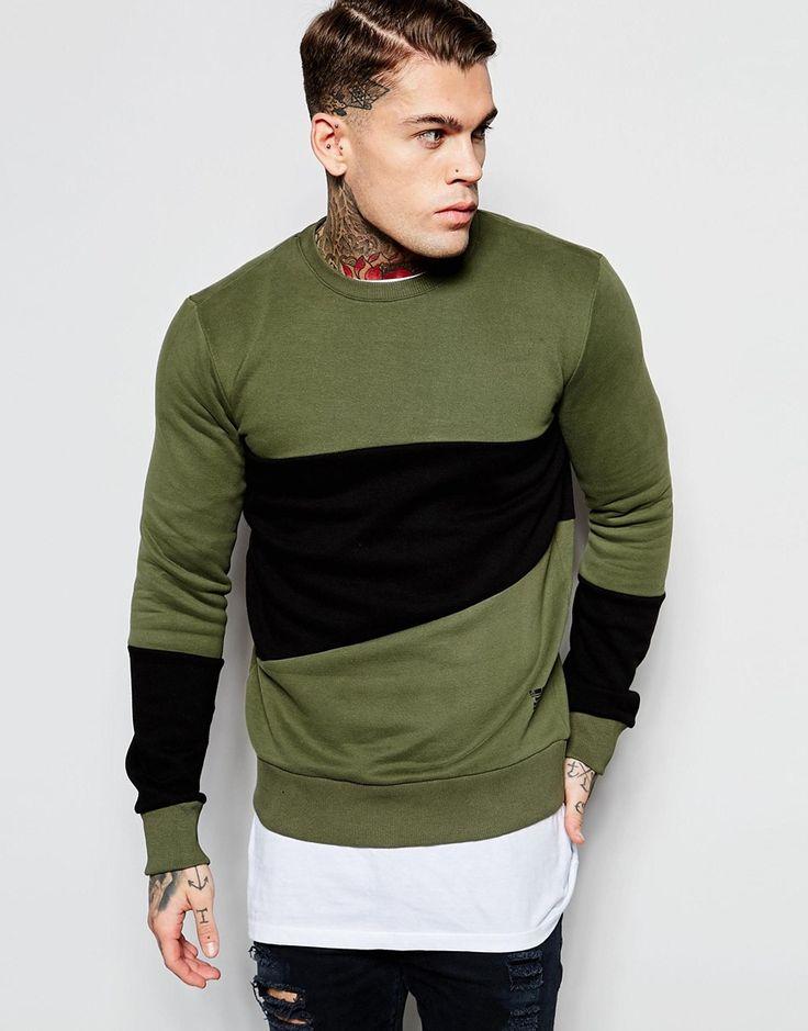 Image 1 ofCriminal Damage Panel Sweatshirt