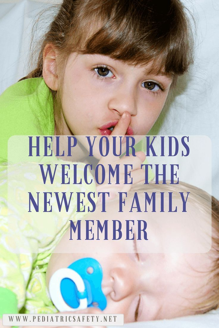 Help Your Kids Welcome The Newest Family Member   The arrival of a new baby brother or sister is exciting for your family. But it can also be anxiety provoking. Here are a few things you can do to make the transition peaceful and calm?