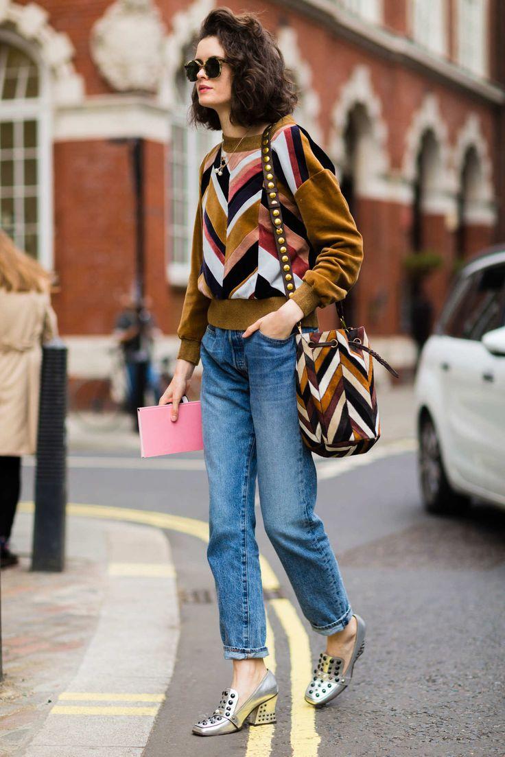 Street style - London Fashion Week 2016 - Love those shoes!  (=)