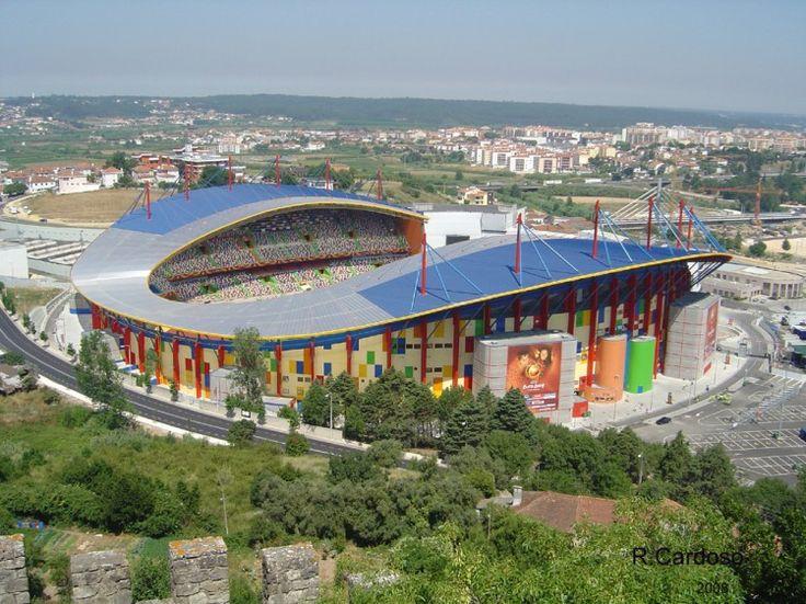 Estadio Magalhães Pessoa  em Leiria - Foto tirada durante o Euro 2004