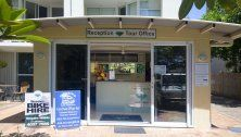 On The Beach - Reception and Tour Desk - Cairns Beaches Accommodation