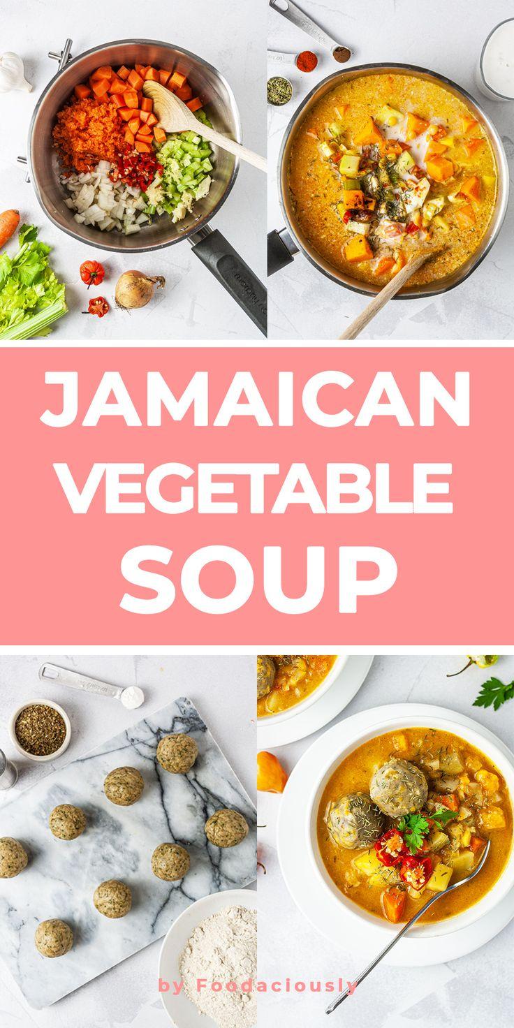 jamaican vegetable soup recipe recipe in 2020