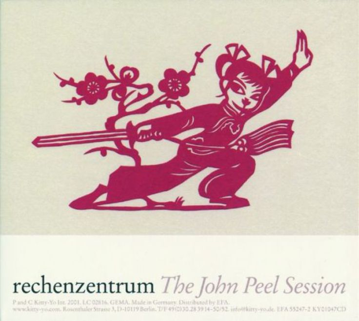 "Read more: https://www.luerzersarchive.com/en/magazine/print-detail/kitty-yo-30722.html Kitty-Yo rechenzentrum: ""The John Peel Session"", CD cover and inside of CD case. Tags: Angela Lorenz, Vienna,Angela Lorenz,Kitty-Yo"