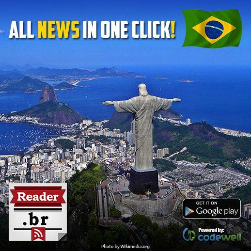 Brazil Reader enables you to read all the latest news from the best Brazil portals on one place!  https://play.google.com/store/apps/details?id=com.codewell.unltd.mk.brreader  Have fun reading Portal A Critica, Gazeta de Joinville, A Notícia, A Liberdade, Jornal A Razão, Trivela and Meionorte.