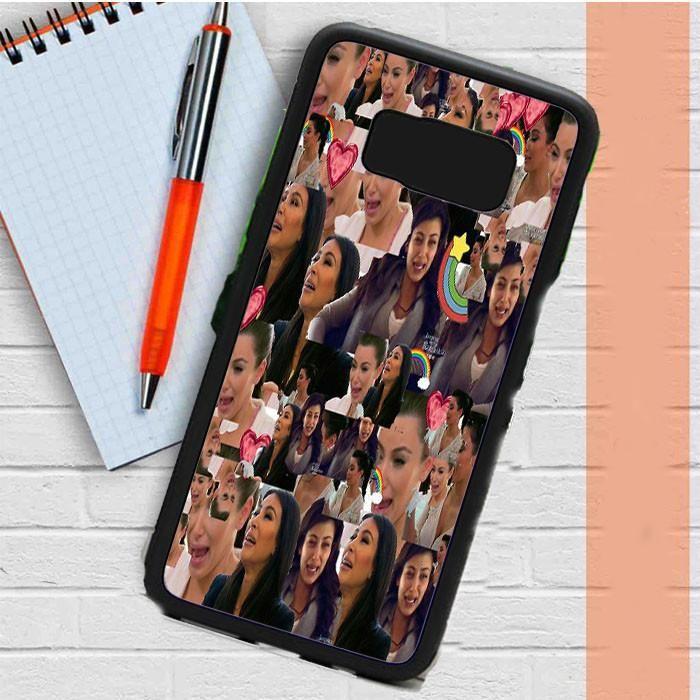 Kim Kardashian Crying Collage Samsung Galaxy S8 Plus Case Dewantary