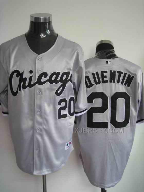 http://www.xjersey.com/white-sox-20-quentim-grey-jerseys.html WHITE SOX 20 QUENTIM GREY JERSEYS Only $34.00 , Free Shipping!