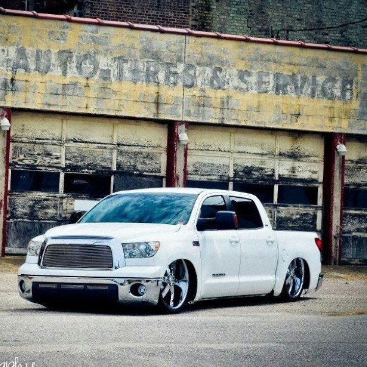 Lowered Tundra | Lowered Trucks | Pinterest