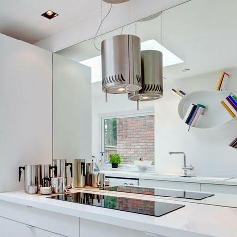 White Kitchen Mirror Splashback 23 best mirrored kitchen splashback images on pinterest | mirror