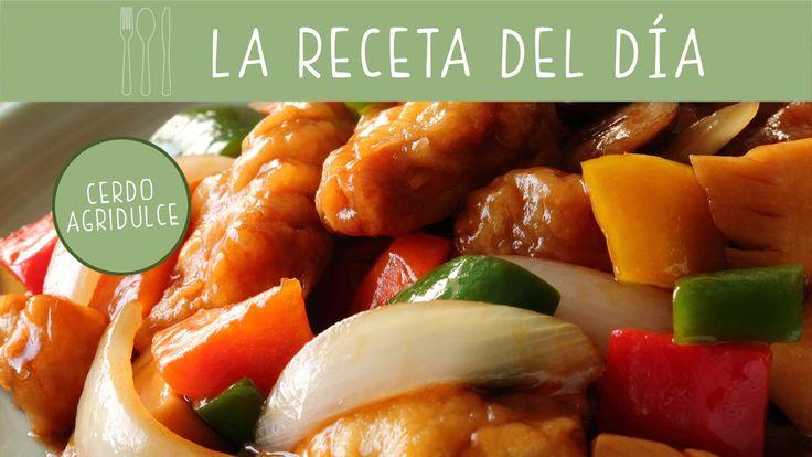Damos un toque exótico a nuestra mesa y preparamos una #receta clásica de la cocina china: cerdo agridulce.