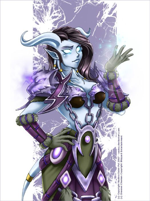 Shaman Draenei by ~Nadou on deviantART