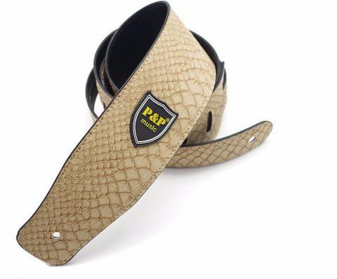 Snake Skin Style Guitar Strap