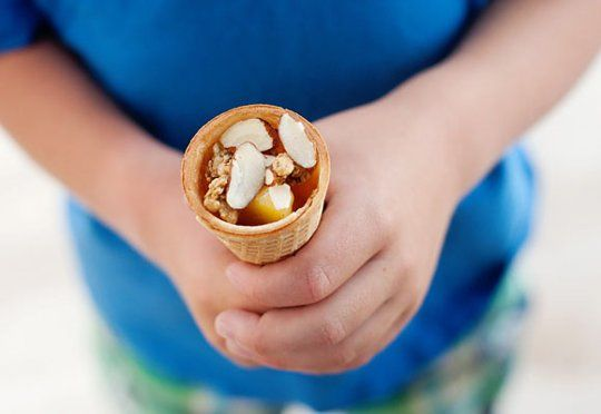 #Howto, Move Over, S'Mores: Campfire Cones Are In Town #camping http://taste-for-adventure.tablespoon.com/2012/06/17/campfire-cones/