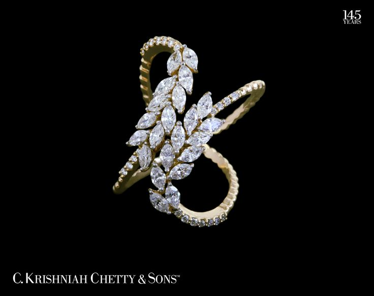 An elegant diamond ring to sweep you off your feet... aren't you already thinking on the same lines?  For further enquiries please refer:0008099372