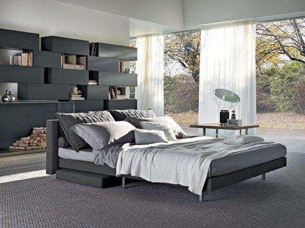 Sofa bed SCOOP QUADRO by Saba Italia #Design Guido Rosati - mondo paolo schlafzimmer