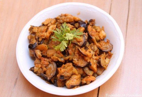 Zaalouk - caviar d'aubergines