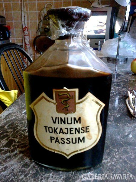 Vinum Tokajense Passum 1968