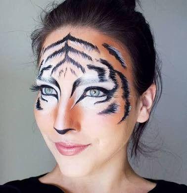 Maquiagem de tigre