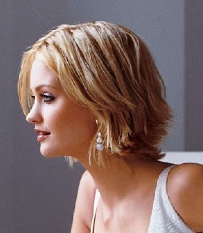 medium short hairstyles for fat faces   Women's Hairstyles Idea