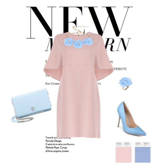 Ксения by ksushkay2015 on Polyvore featuring Valentino, Journee Collection, Tory Burch and Dettagli