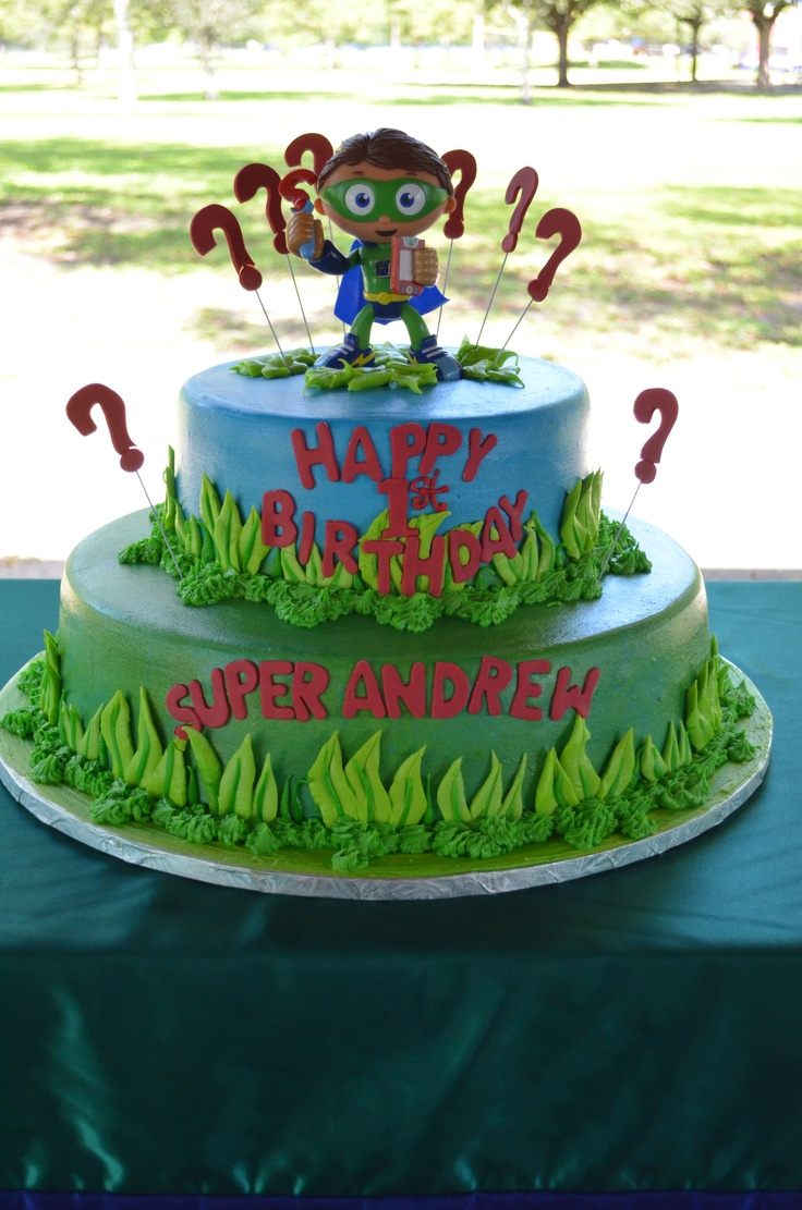Cake Design Hialeah : Andrew s Super Why Cake by Madelyn Cakes in Hialeah, FL ...
