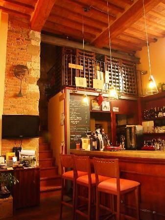 La Locanda di San Francesco, #Montepulciano: wine bar, dining room, reception area