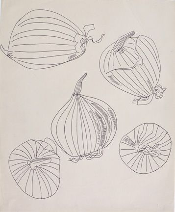 Onions by Warhol