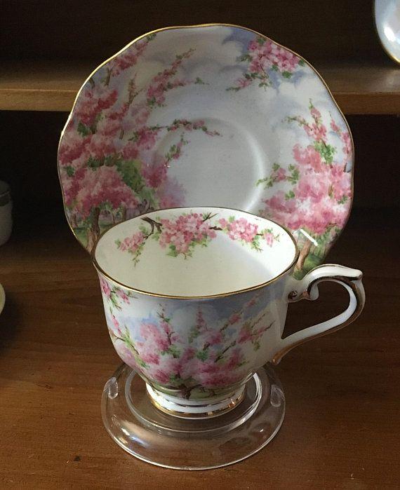 Royal Albert Blossom Time Teacup and Saucer