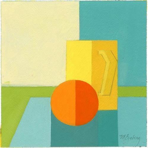 """Yellow Cup"" original fine art by Mitch Egeberg"