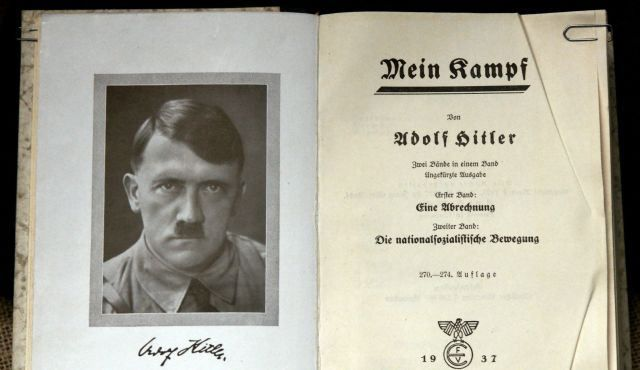 Hitler's 'Mein Kampf' book printed in Germany after 70 years.