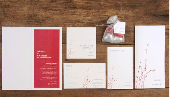 Contemporary Wedding Stationery #BridalGuideMagazine #BridalGuideMalaysia #RosalindWong