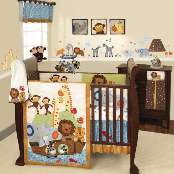 The S. S. Noah 4 Piece Bedding Set Is A Classic Theme Done In A Cute