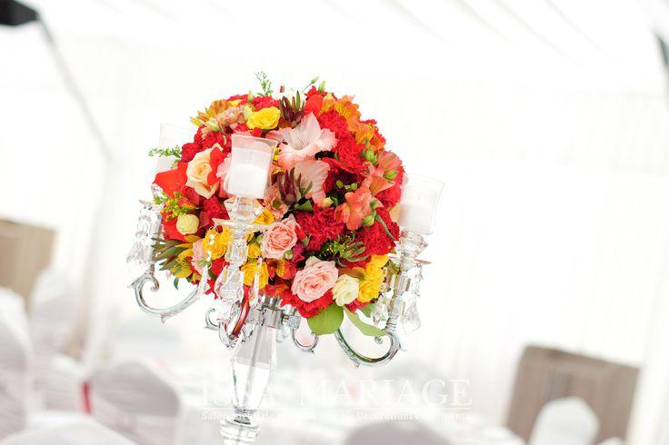 Aranjament floral trandafiri IssaEvents