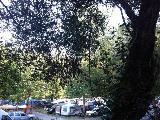 El Camping Playa de la Franca, en agosto