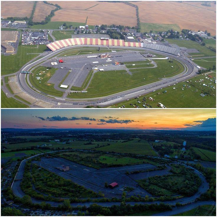 Overgrown Nazareth Speedway Nazareth PA [1000 X 1000