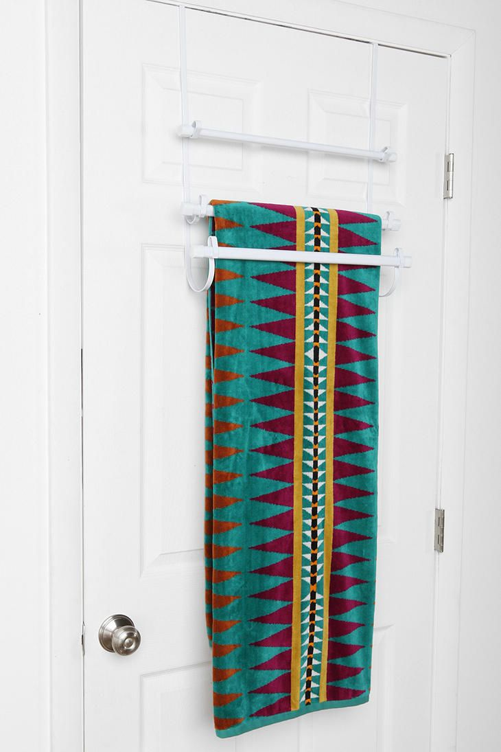 1000 images about over the door towel rack on pinterest shop home organize it and hooks for Door towel racks for bathrooms