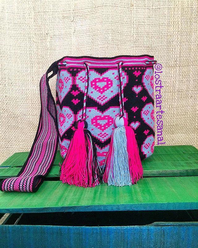 Wayuu Bags 1Hebra - Handmade - Original Wayuu @lanostraartesanal
