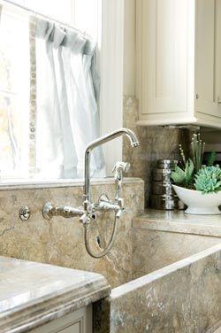 Custom Marble Farmhouse Sink