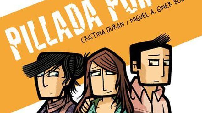 Imagen del cómic 'Pillada por ti', que sensibiliza a los jóvenes contra la violencia de género.