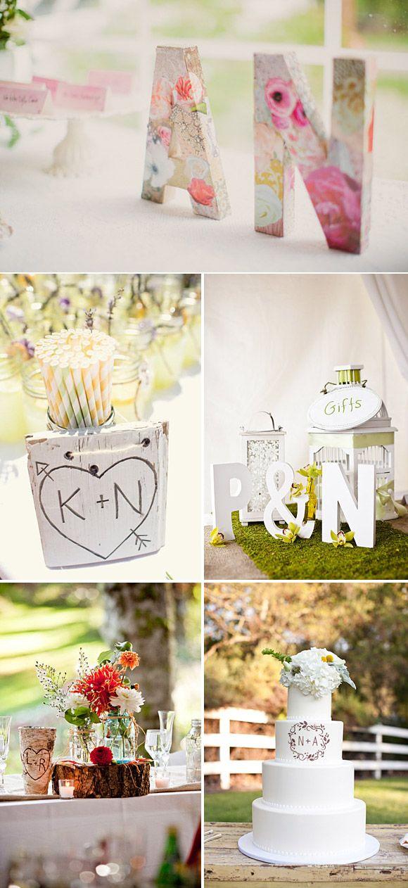 14 best ideas para tus letras 3d images on pinterest - Letras para decorar ...